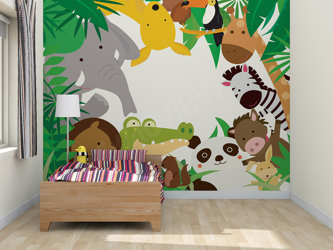 Sticker mural une solution de d coration rapide et for Stickers chambre d enfant