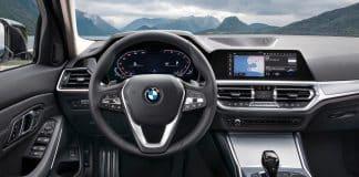 Des accessoires d'intérieur pour une voiture BMW