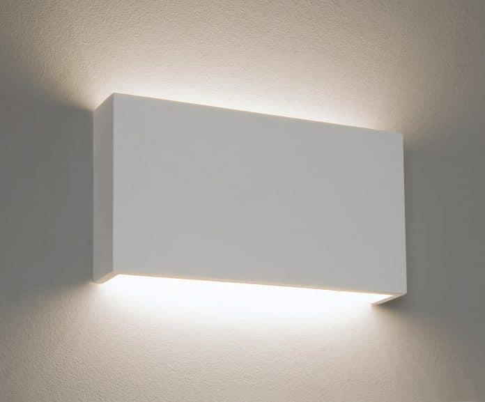 Une applique murale LED décorative