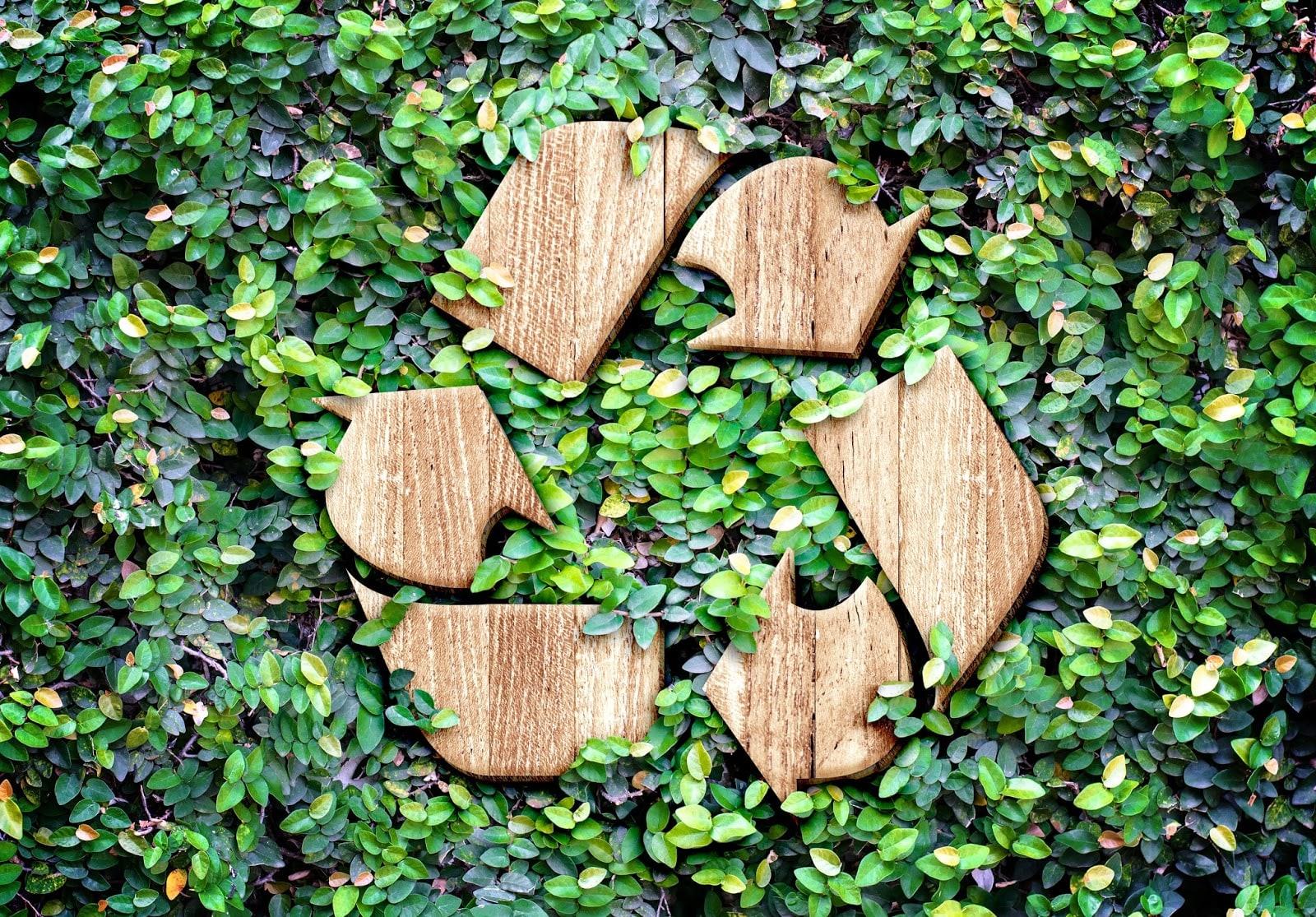 Logo du recyclage durable