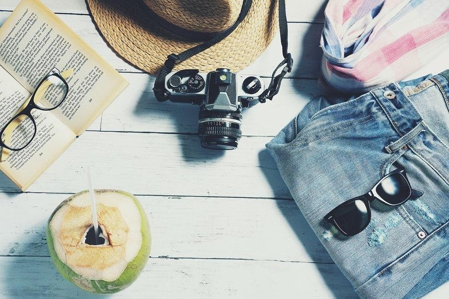 Des accessoires de vacances