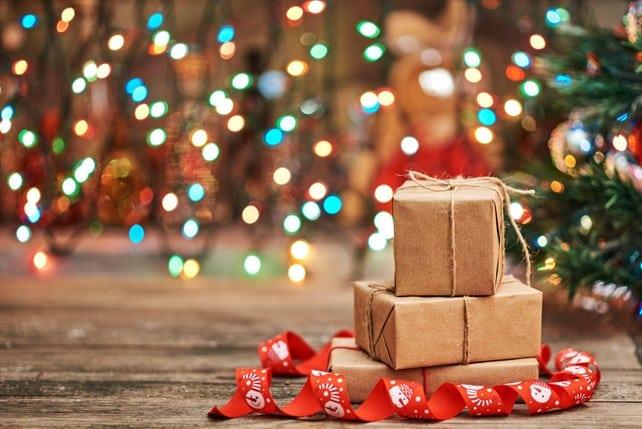Des cadeaux de Noël