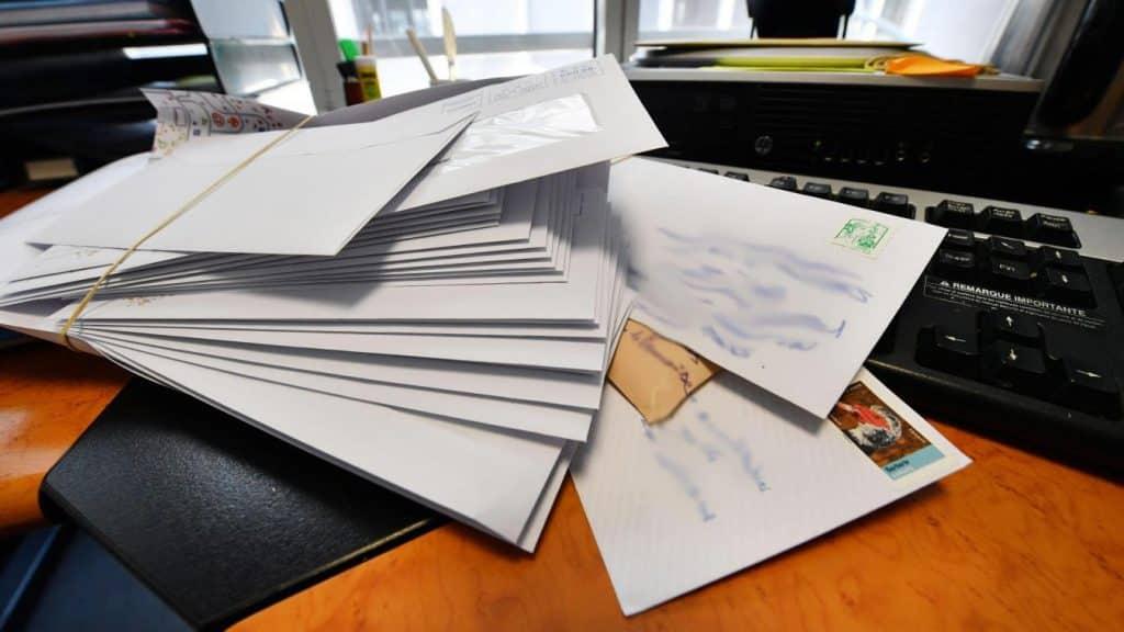 Prospectus boîte aux lettres
