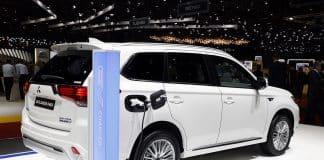 Stratégie d'électrification de la marque Mitsubishi