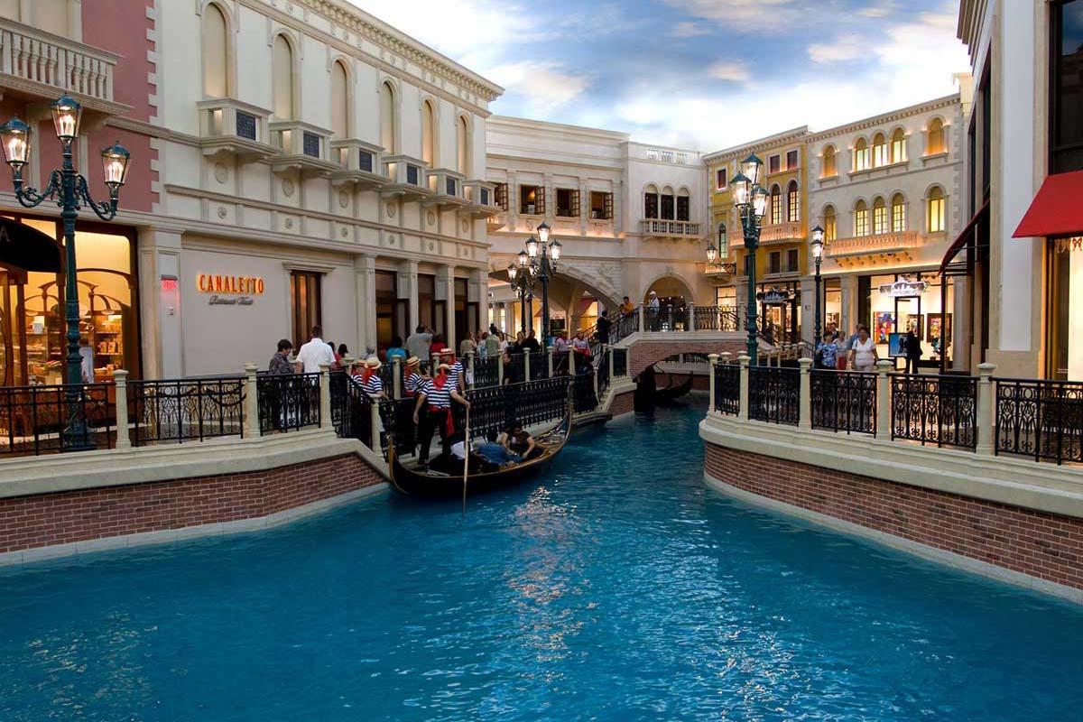 Se balader sur l'eau à Las Vegas