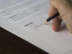 signer en ligne au lieu de signer sur papier