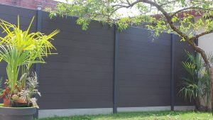 panneau clôture composite anthracite