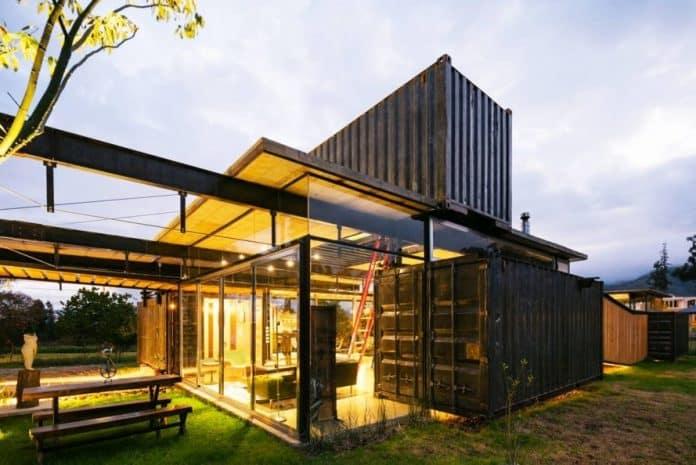 maison en container une construction rapide et conomique. Black Bedroom Furniture Sets. Home Design Ideas