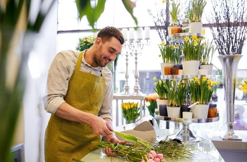 métier de fleuriste