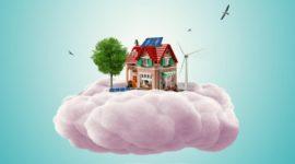 maison nuage