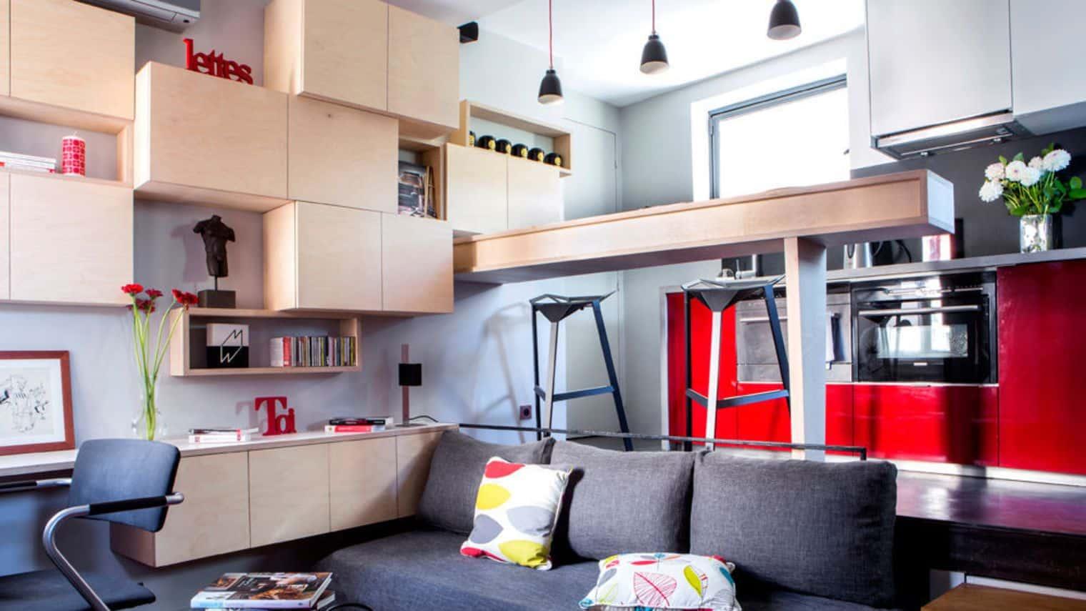 Solution Rangement Petit Appartement manque de place dans un appartement : solutions pour gagner de l'espace