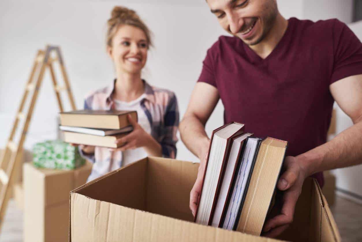 déménagement cartons déménageurs