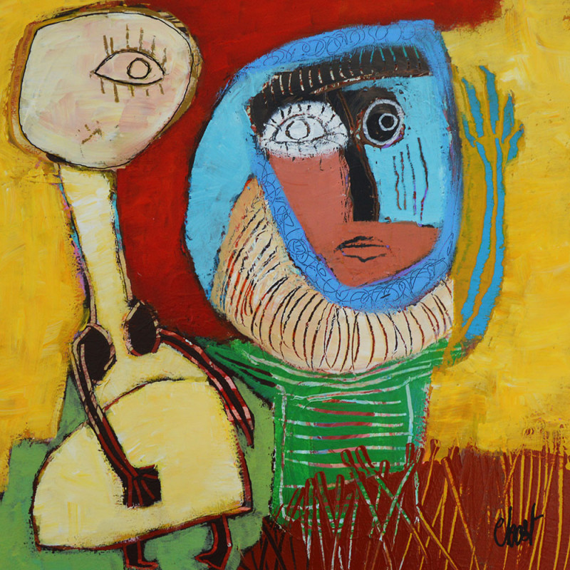 oeuvre d art contemporain paulette son frere c bost