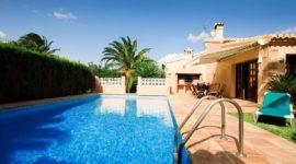 piscine villa