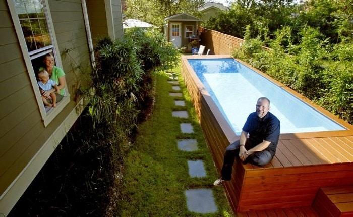 Un conteneur en une piscine, est-ce possible ? - Fuveau