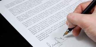 signature manuscrite
