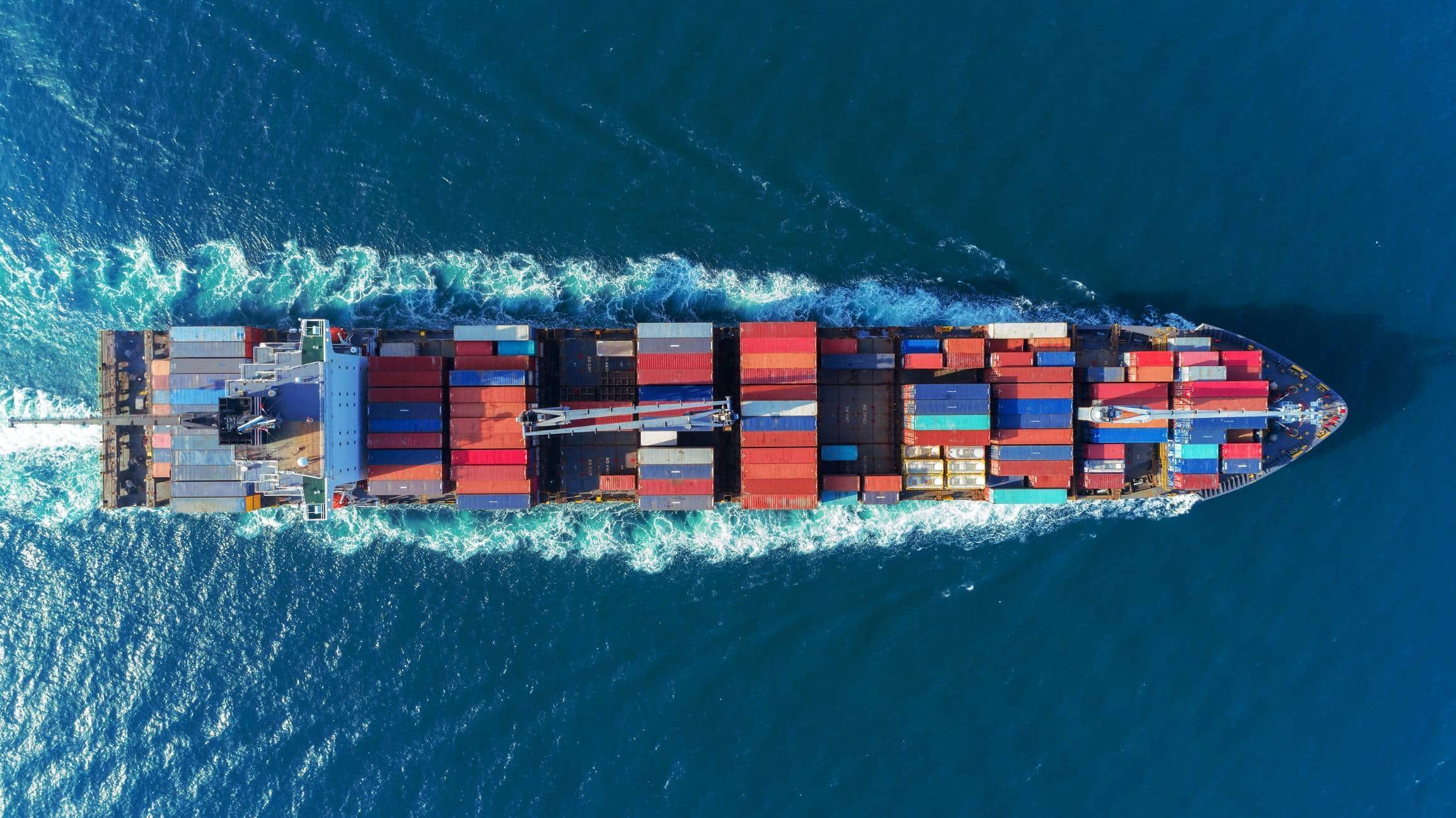 Fret maritime déménagement